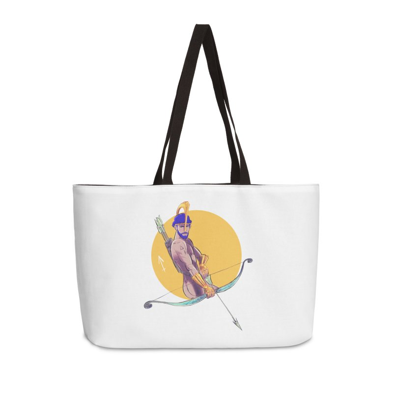 Sagittarius Accessories Weekender Bag Bag by Ego Rodriguez