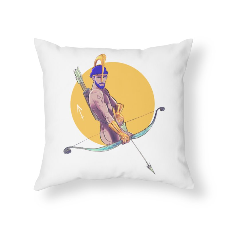Sagittarius Home Throw Pillow by Ego Rodriguez