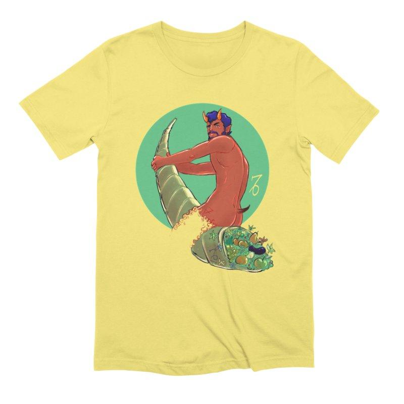 Capricorn Men's T-Shirt by Ego Rodriguez