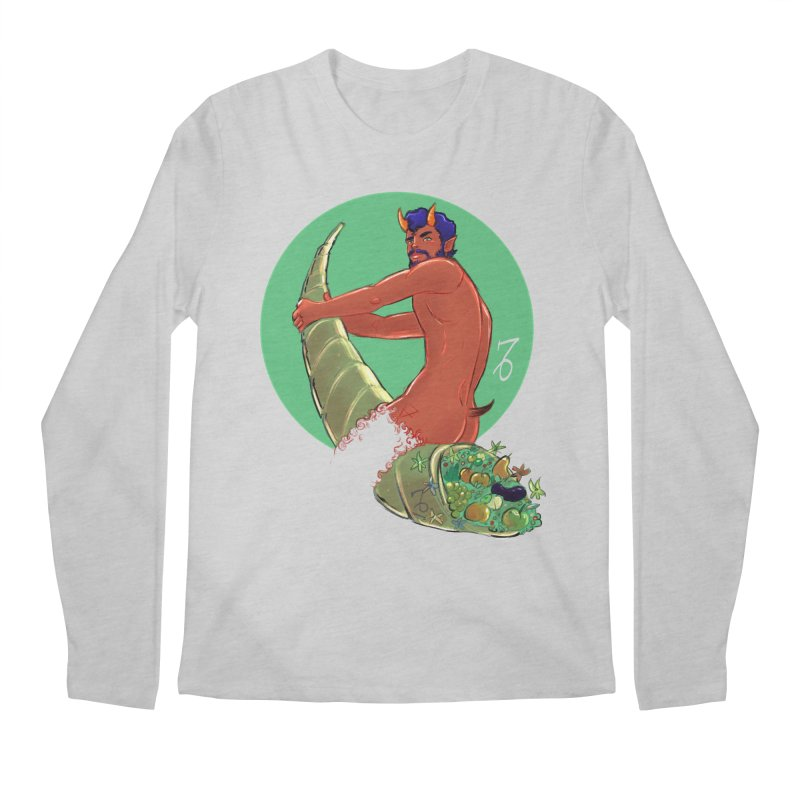 Capricorn Men's Regular Longsleeve T-Shirt by Ego Rodriguez