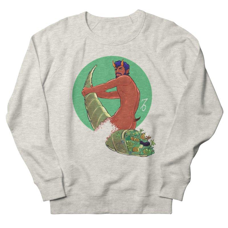 Capricorn Men's French Terry Sweatshirt by Ego Rodriguez