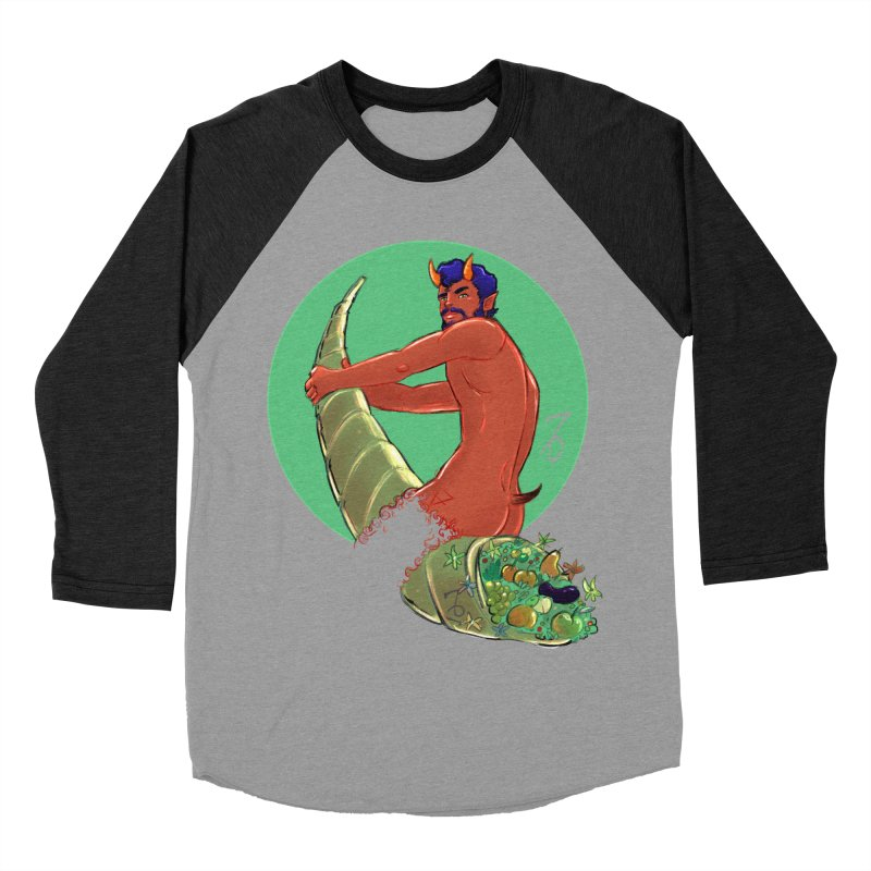 Capricorn Women's Baseball Triblend Longsleeve T-Shirt by Ego Rodriguez