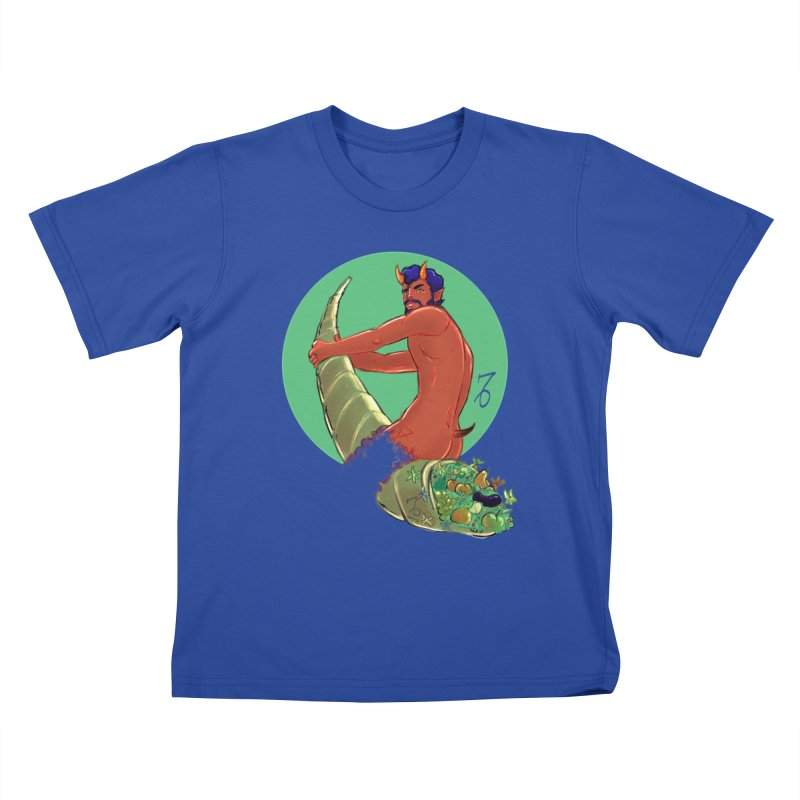 Capricorn Kids T-Shirt by Ego Rodriguez