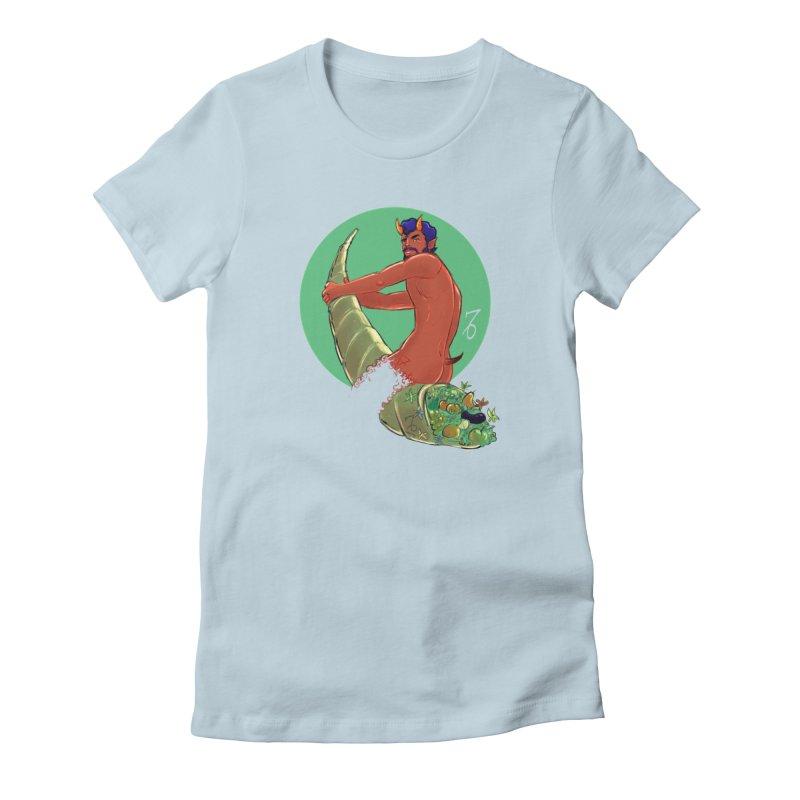 Capricorn Women's T-Shirt by Ego Rodriguez
