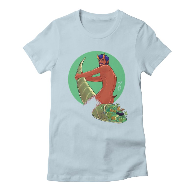 Capricorn Women's T-Shirt by Ego Rodriguez