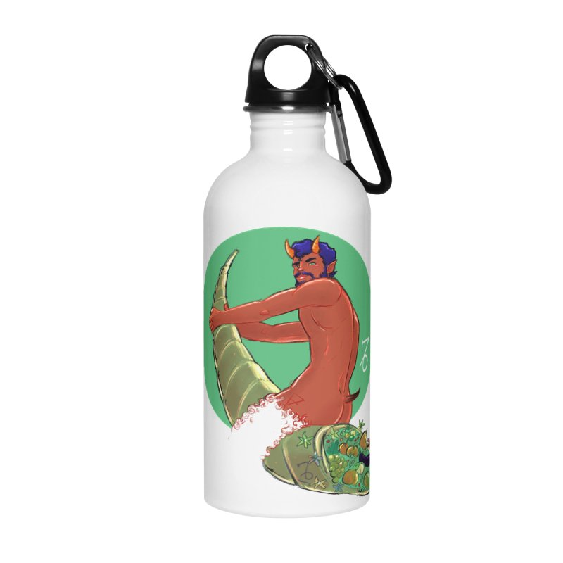 Capricorn Accessories Water Bottle by Ego Rodriguez