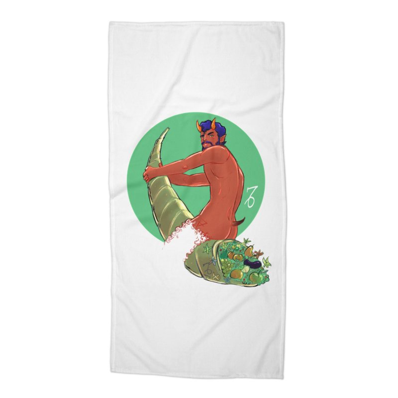 Capricorn Accessories Beach Towel by Ego Rodriguez