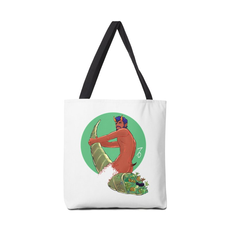 Capricorn Accessories Tote Bag Bag by Ego Rodriguez