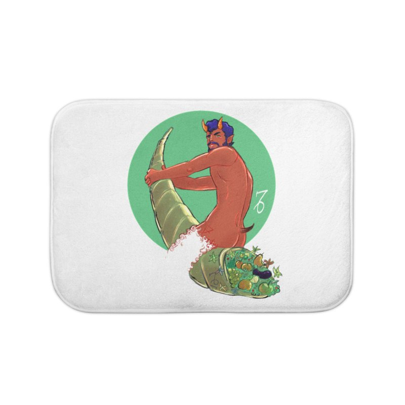 Capricorn Home Bath Mat by Ego Rodriguez