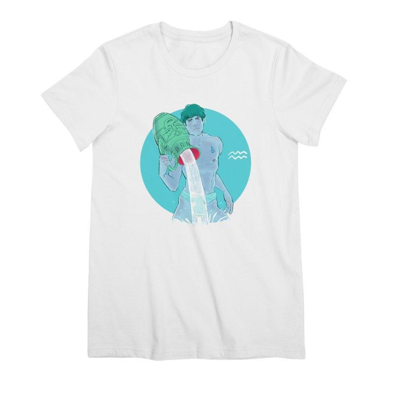 Aquarius Women's T-Shirt by Ego Rodriguez