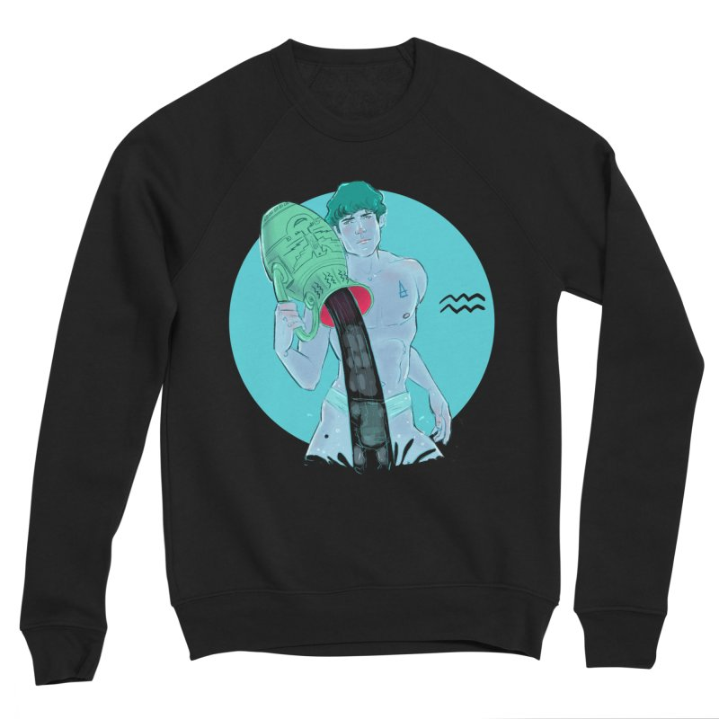 Aquarius Men's Sweatshirt by Ego Rodriguez