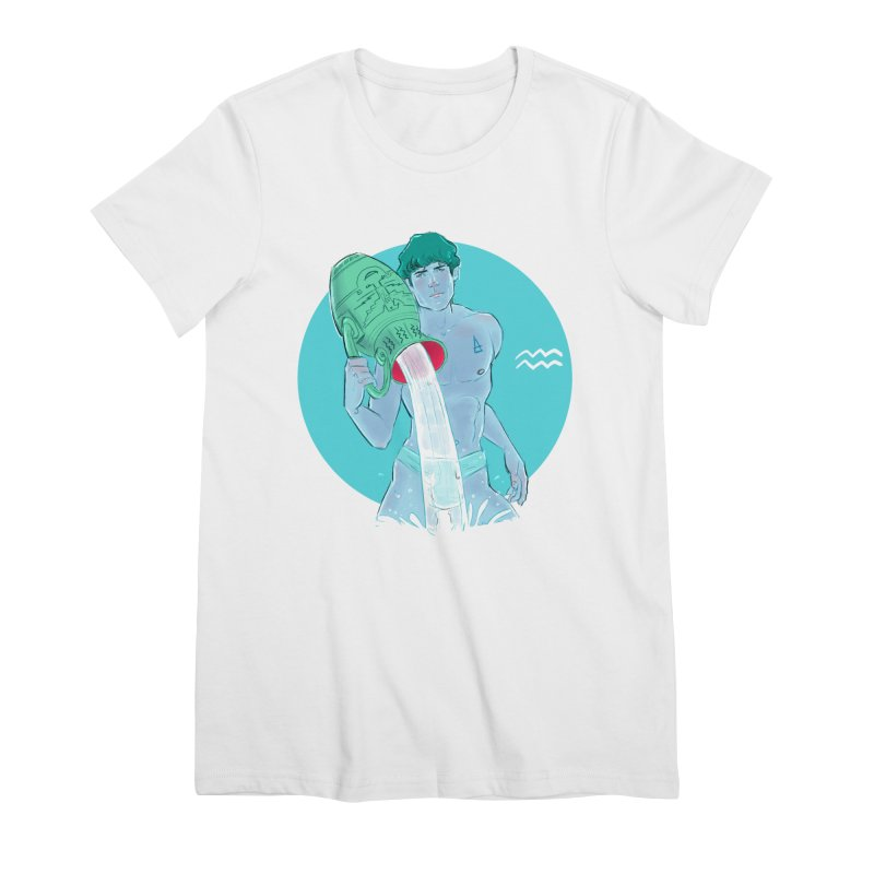 Aquarius Women's T-Shirt by Ego Rodriguez