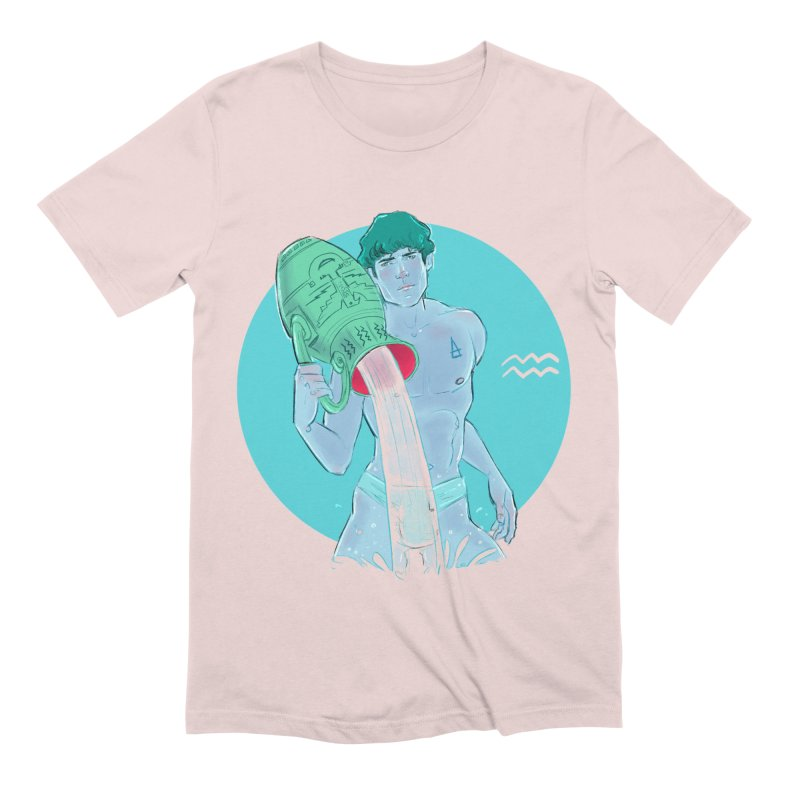 Aquarius Men's T-Shirt by Ego Rodriguez