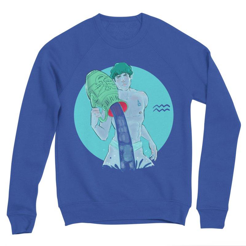 Aquarius Women's Sponge Fleece Sweatshirt by Ego Rodriguez