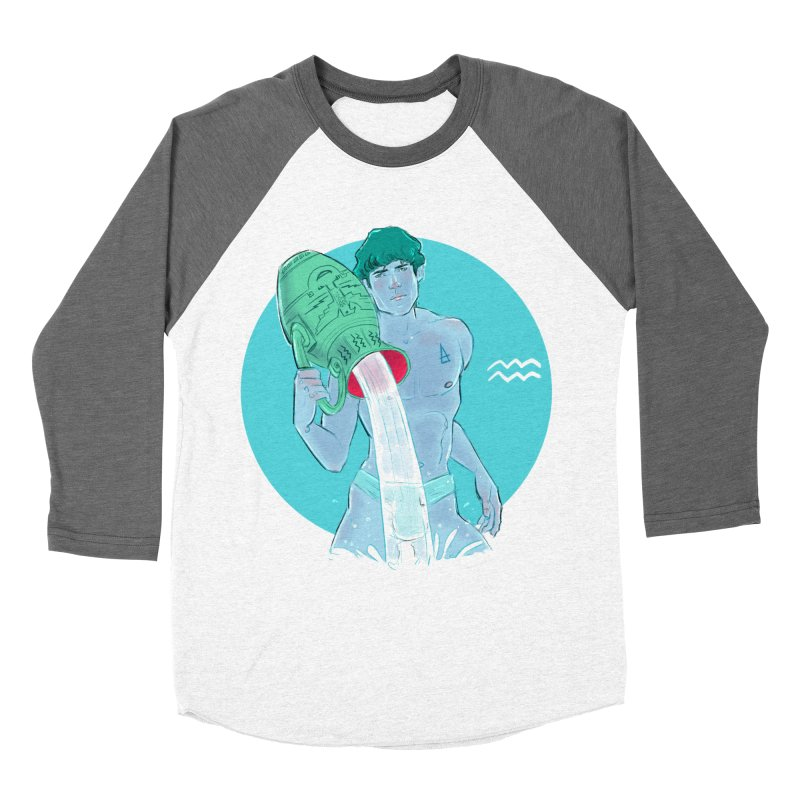 Aquarius Women's Longsleeve T-Shirt by Ego Rodriguez