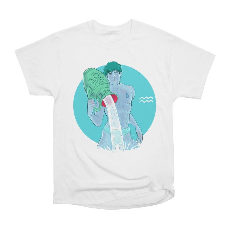 Aquarius Women's Heavyweight Unisex T-Shirt by Ego Rodriguez