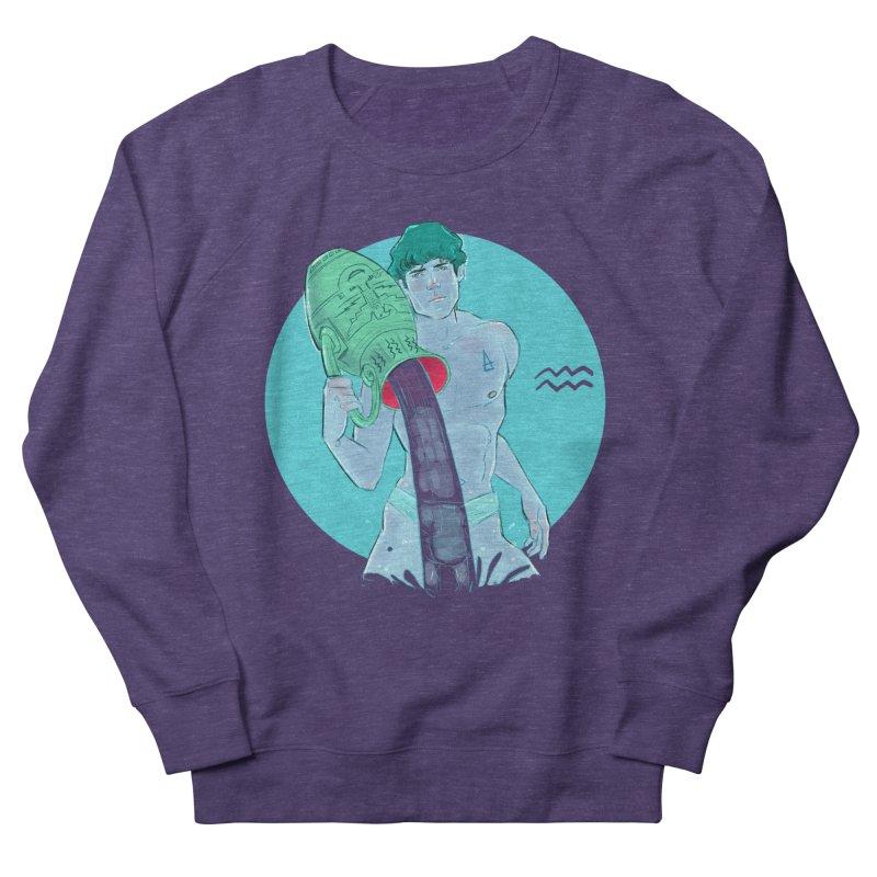 Aquarius Women's French Terry Sweatshirt by Ego Rodriguez