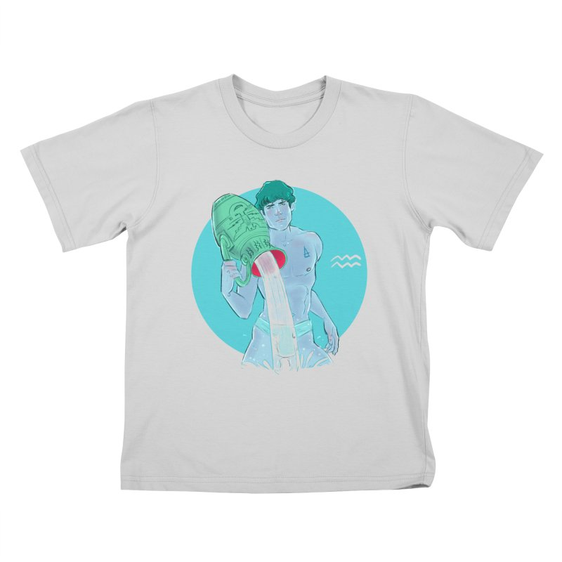 Aquarius Kids T-Shirt by Ego Rodriguez