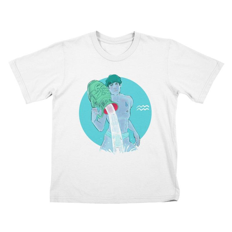 Aquarius Kids T-Shirt by Ego Rodriguez