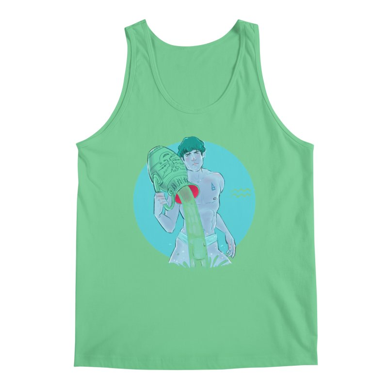 Aquarius Men's Tank by Ego Rodriguez