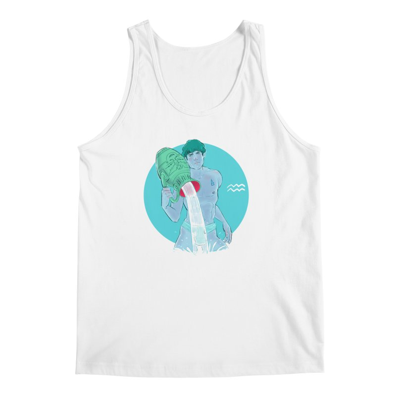 Aquarius Men's Regular Tank by Ego Rodriguez