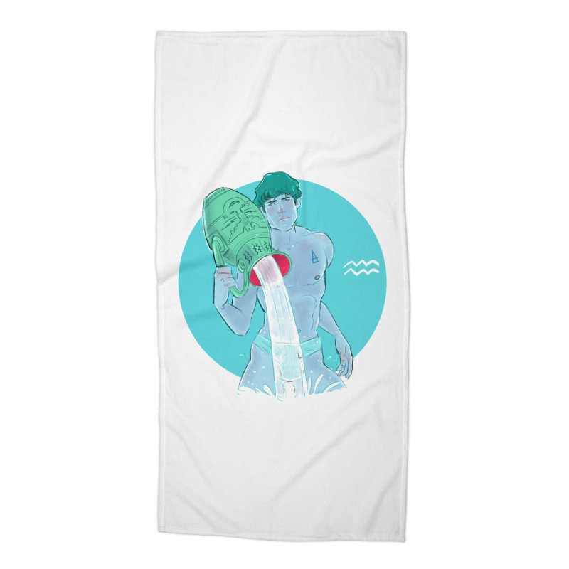 Aquarius Accessories Beach Towel by Ego Rodriguez