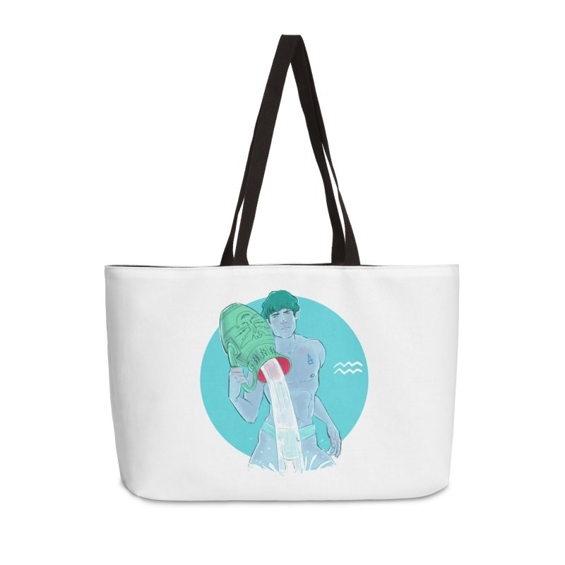 Aquarius Accessories Weekender Bag Bag by Ego Rodriguez