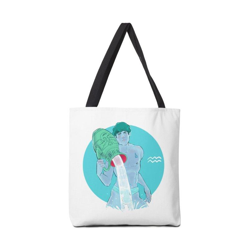 Aquarius Accessories Tote Bag Bag by Ego Rodriguez