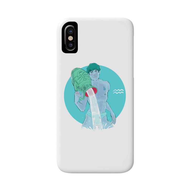 Aquarius Accessories Phone Case by Ego Rodriguez