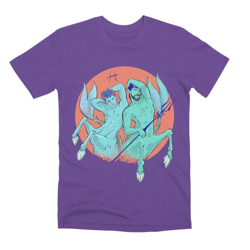 Pisces Men's Premium T-Shirt by Ego Rodriguez