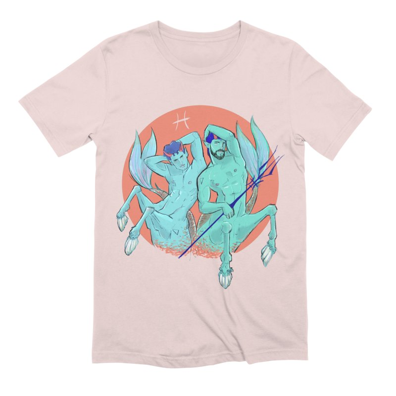 Pisces Men's Extra Soft T-Shirt by Ego Rodriguez