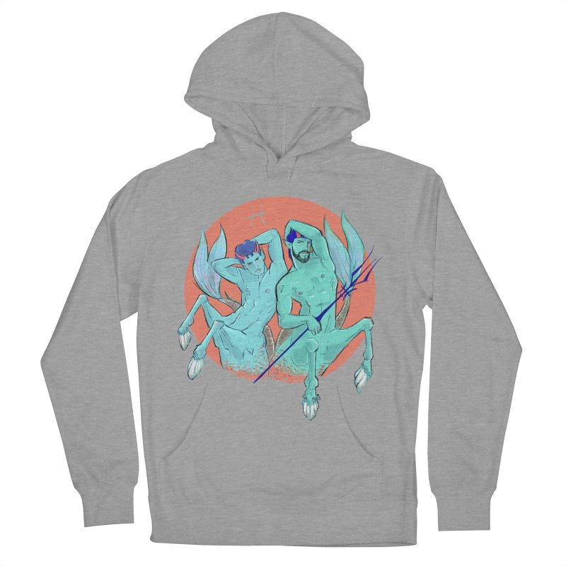 Pisces Women's French Terry Pullover Hoody by Ego Rodriguez