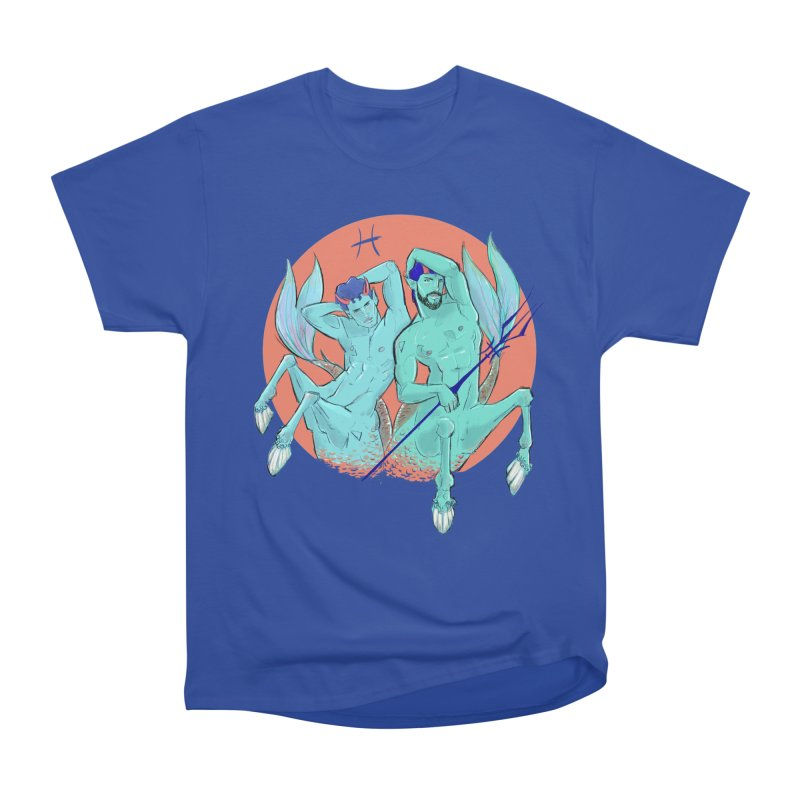 Pisces Men's Heavyweight T-Shirt by Ego Rodriguez