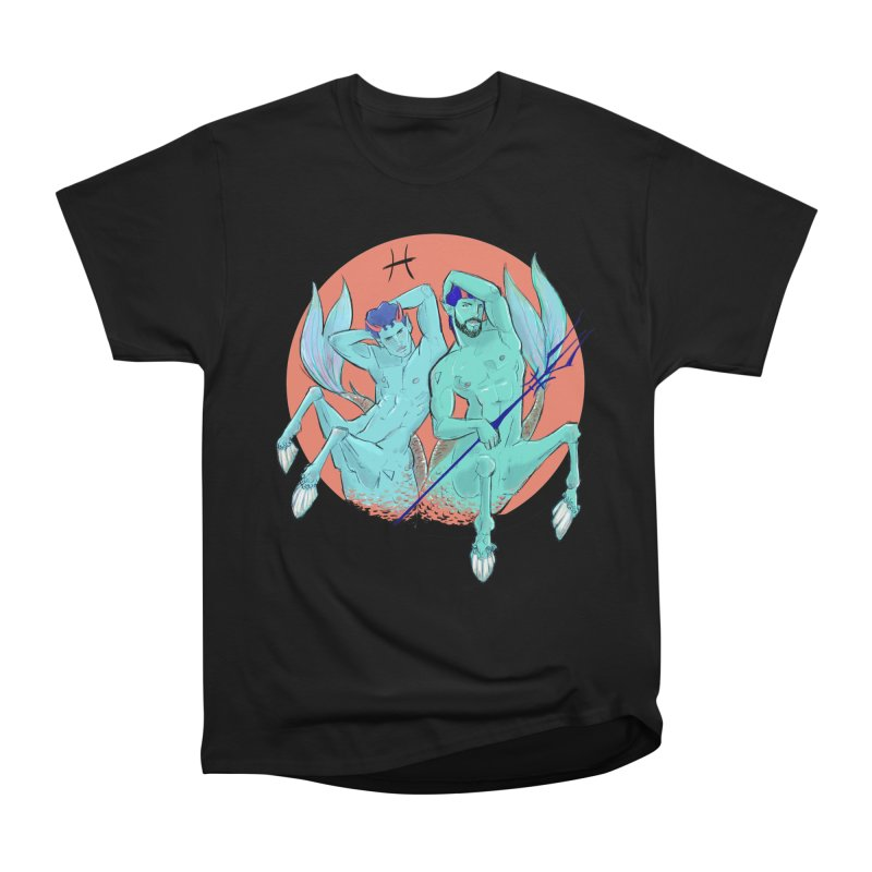 Pisces Women's Heavyweight Unisex T-Shirt by Ego Rodriguez