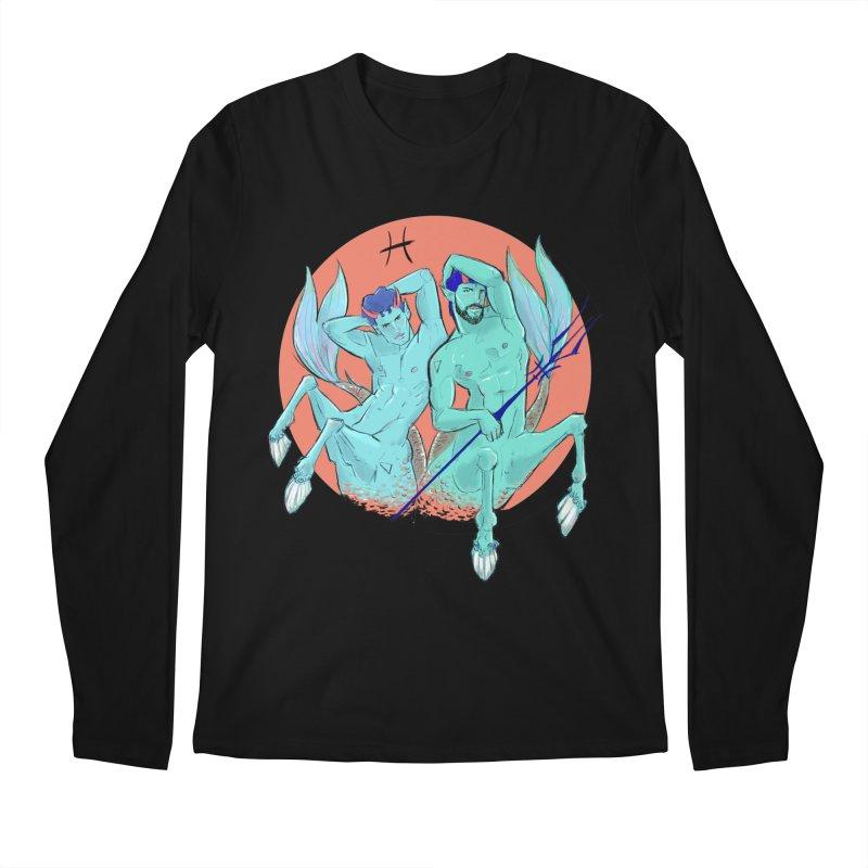 Pisces Men's Regular Longsleeve T-Shirt by Ego Rodriguez