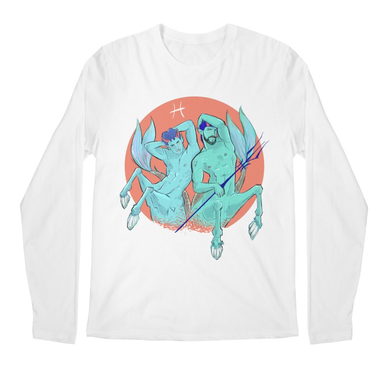 Pisces Men's Regular Longsleeve T-Shirt by Ego Rodriguez