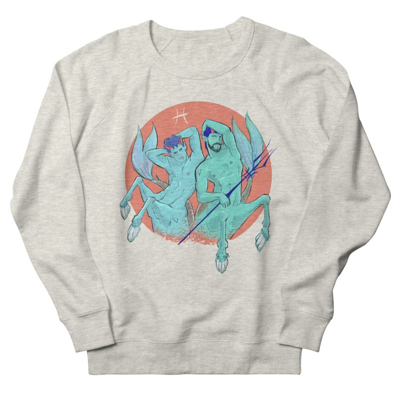 Pisces Men's French Terry Sweatshirt by Ego Rodriguez