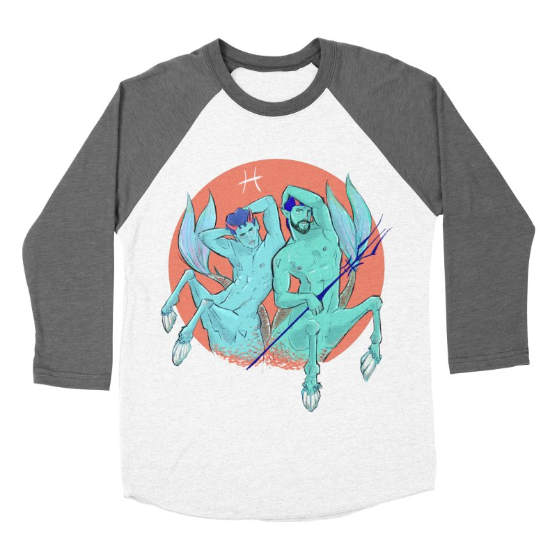 Pisces Women's Baseball Triblend Longsleeve T-Shirt by Ego Rodriguez