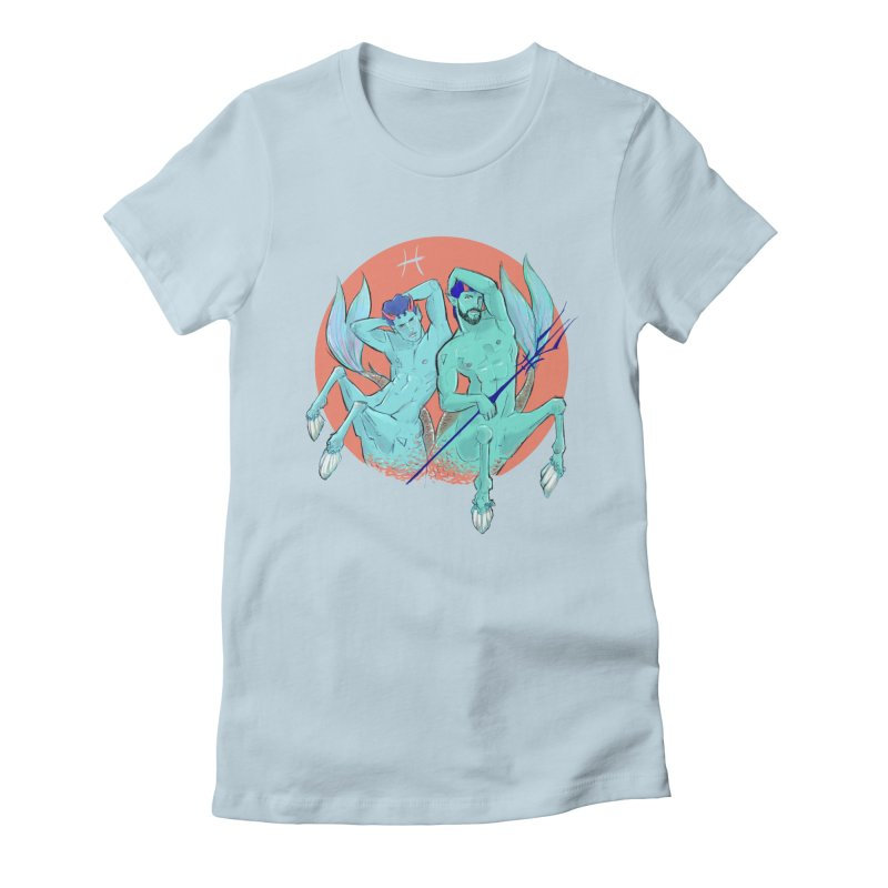 Pisces Women's Fitted T-Shirt by Ego Rodriguez
