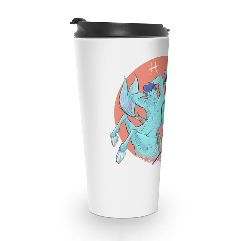 Pisces Accessories Travel Mug by Ego Rodriguez