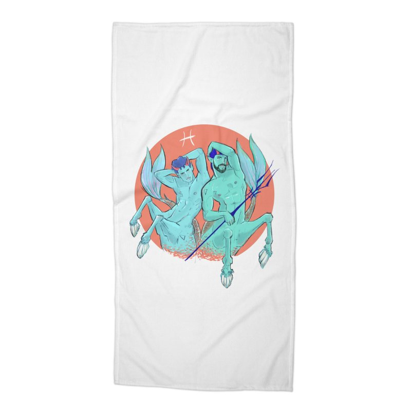 Pisces Accessories Beach Towel by Ego Rodriguez
