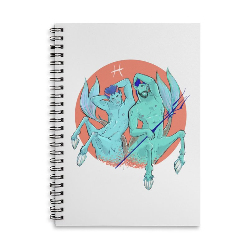 Pisces Accessories Notebook by Ego Rodriguez