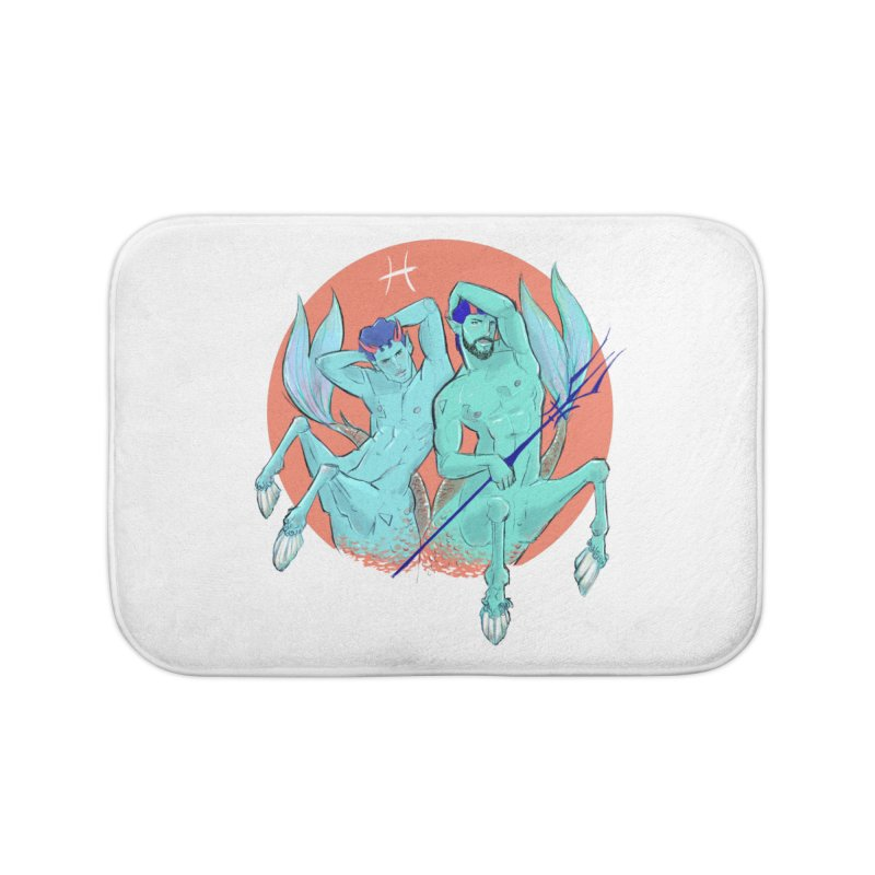 Pisces Home Bath Mat by Ego Rodriguez