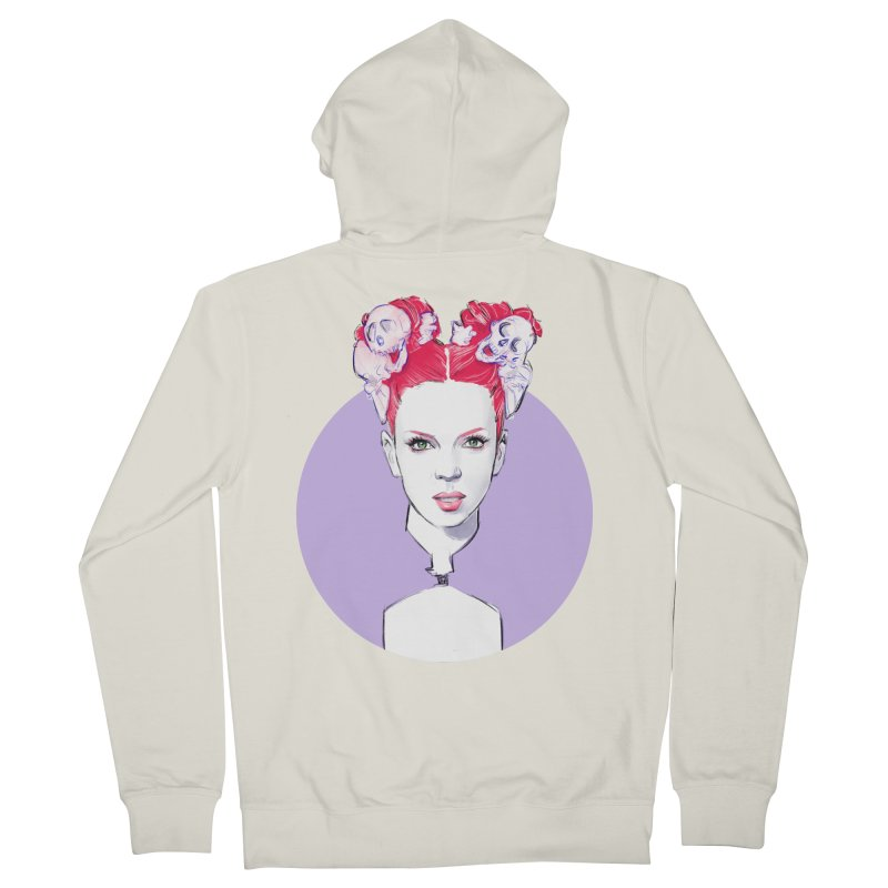 Queer Women's French Terry Zip-Up Hoody by Ego Rodriguez