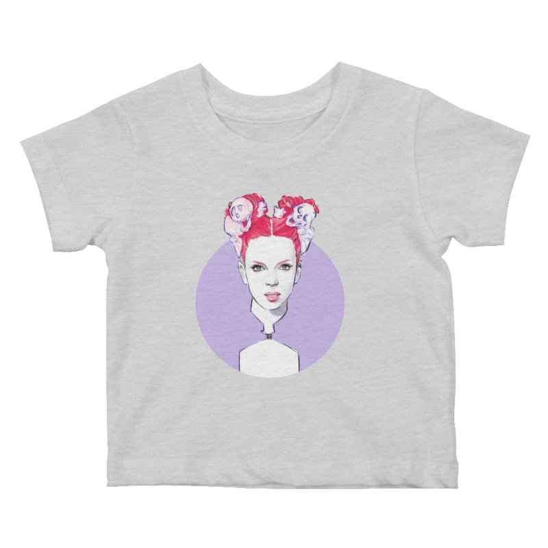 Queer Kids Baby T-Shirt by Ego Rodriguez