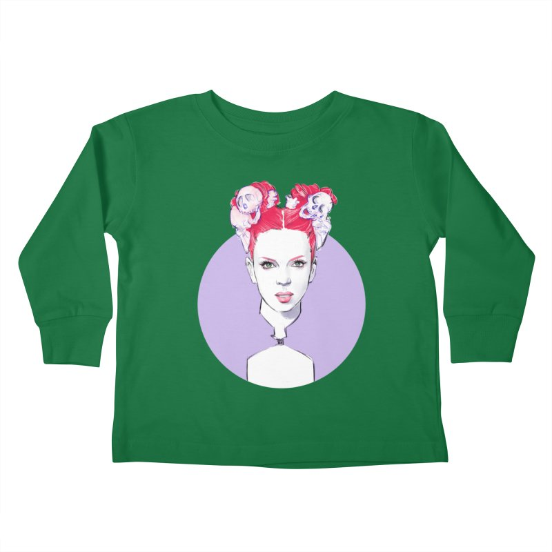 Queer Kids Toddler Longsleeve T-Shirt by Ego Rodriguez