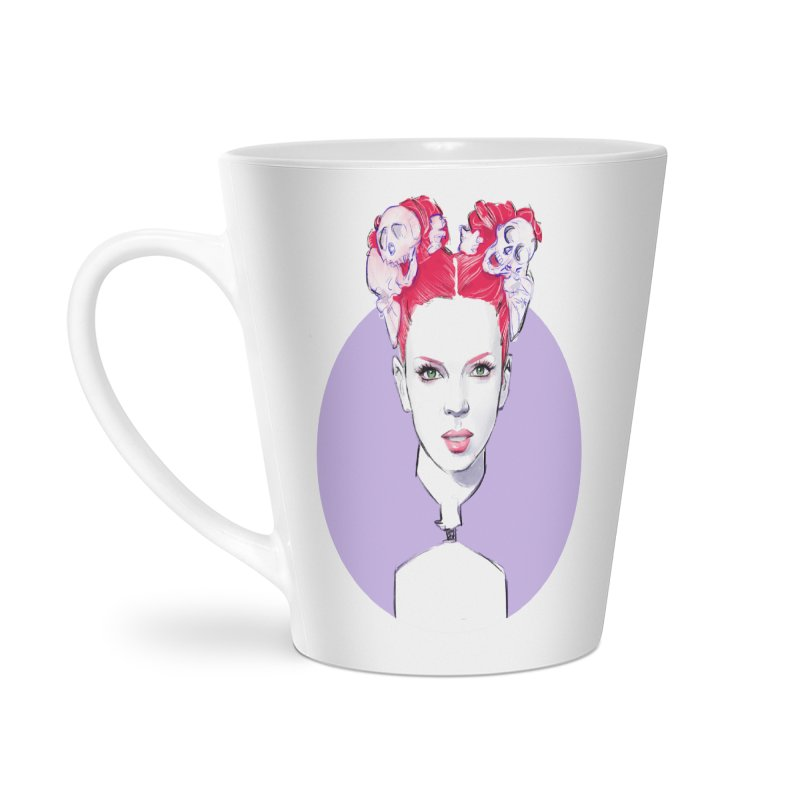 Queer Accessories Latte Mug by Ego Rodriguez