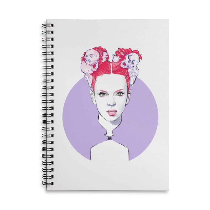 Queer Accessories Lined Spiral Notebook by Ego Rodriguez