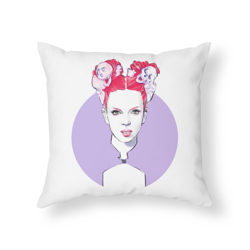 Queer Home Throw Pillow by Ego Rodriguez