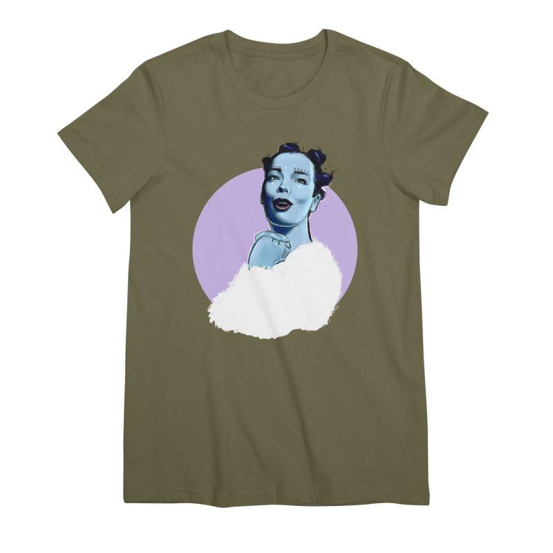 Violently Happy Women's Premium T-Shirt by Ego Rodriguez